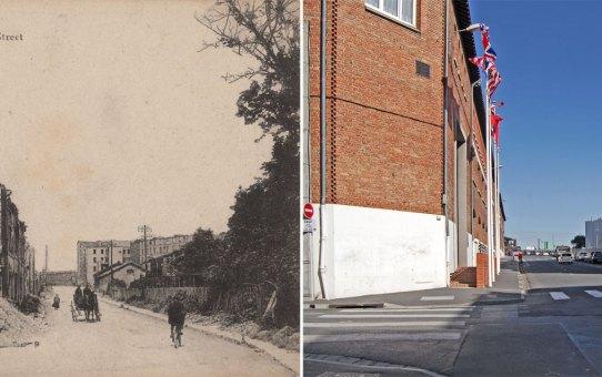 La rue Henri Jolicoeur, actuelle rue du Président Franklin Roosevelt