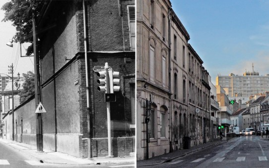 Rue de Courcelles et la tour Géruzez