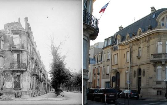 Angle du boulevard Foch et de la rue du Général Sarrail