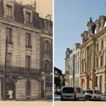 Rue de la Grosse Écritoire et la Caisse d'Epargne