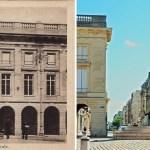 La statue de Louis XV sur la place Royale