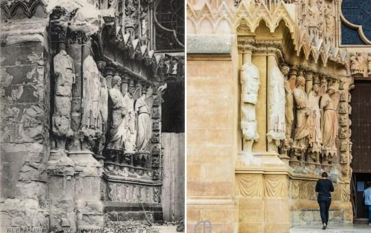 Le portail nord de la façade occidentale de Notre-Dame