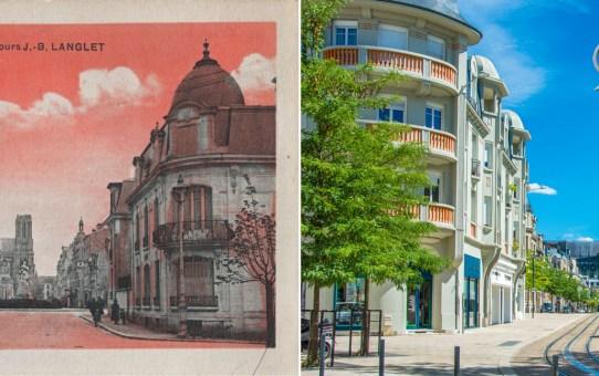 Le Cours J.-B. Langlet vu depuis la rue Thiers