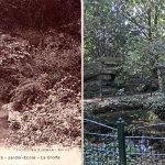 La grotte du jardin Ecole, actuel «jardin d'horticulture Pierre Schneiter»