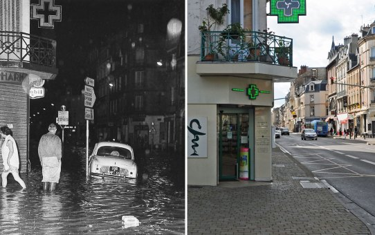 Inondation rue Cérès