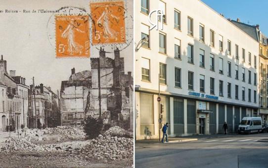 """""""Le Régina Palace Hôtel"""", rue de l'Université"""