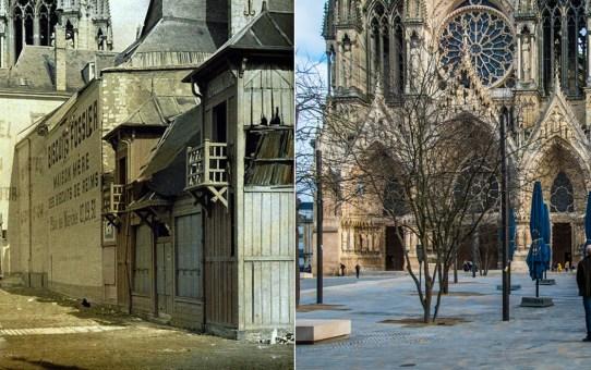L'Hôtel du Lion d'Or sur le parvis de la cathédrale