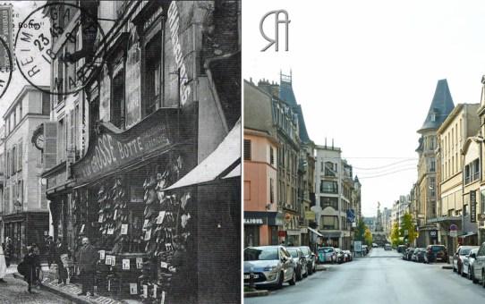 """""""A La Grosse Botte"""" rue du Cadran Saint-Pierre (Avant 1914)"""