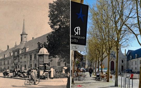 Place Museux, Saint-Maurice et le campus Sciences-Po