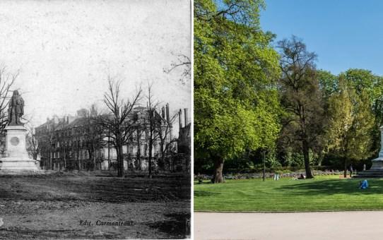 Le square Colbert dans la Première Guerre Mondiale