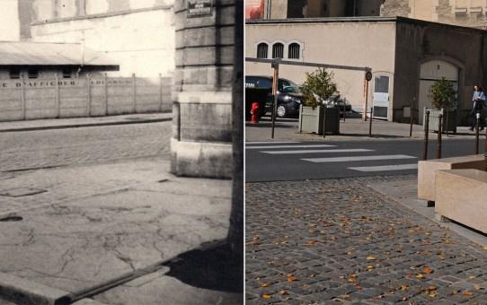 Le croisement entre la rue Chanzy et la rue Rockefeller