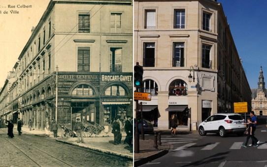 Rue Colbert avant la Grande Guerre