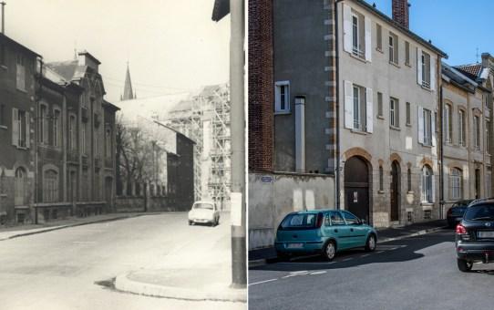 La rue Fery en 1970