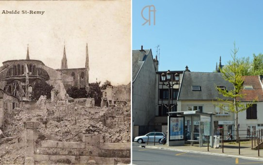 Abside de Saint-Remi - Fin 1918
