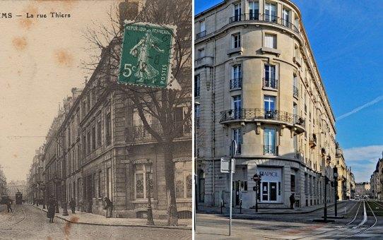 La Rue Thiers à 3 époques