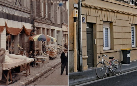 Rue de Cernay, un jour de braderie