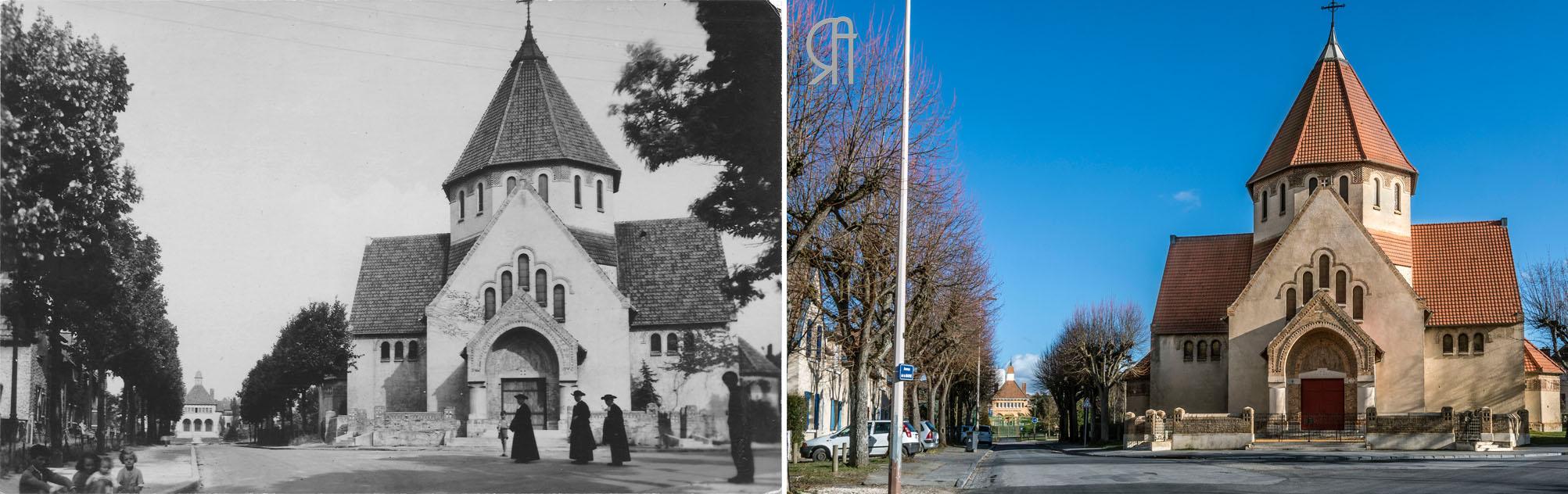 L'église Saint-Nicaise du Chemin Vert