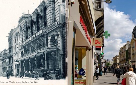 La rue de Vesle avant et après la Grande Guerre