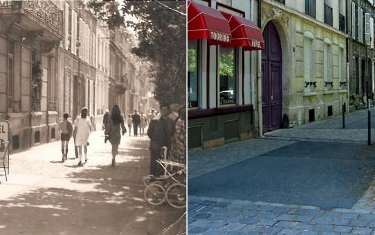 Boulevard du général Leclerc et le Touring Hôtel