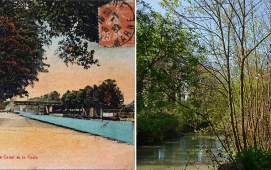 La Vesle et le canal