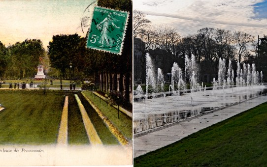 Les Promenades Jean-Louis Schneiter et le miroir