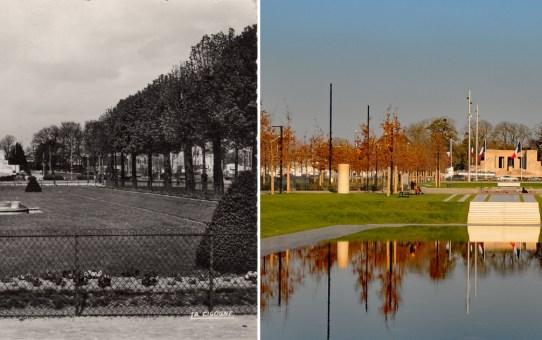 Les promenades à trois époques : 1909, 1955 et 2019