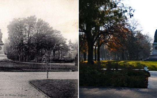 Le Square et la statue Colbert