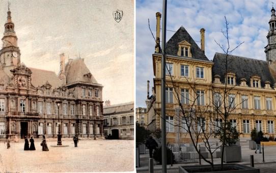 Place Simone Veil, ancienne Place de l'Hôtel de Ville