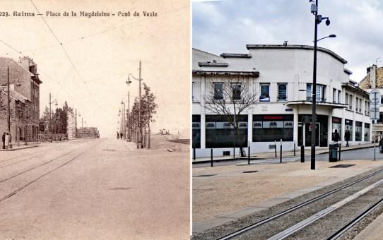 Place Stalingrad, ancienne place de la Magdeleine