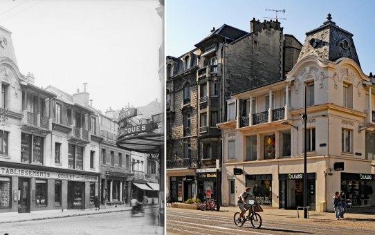 Angle de la rue de Vesle et de la rue Marx Dormoy