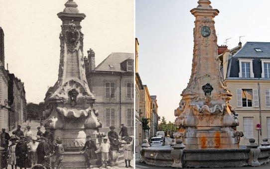 La fontaine Godinot