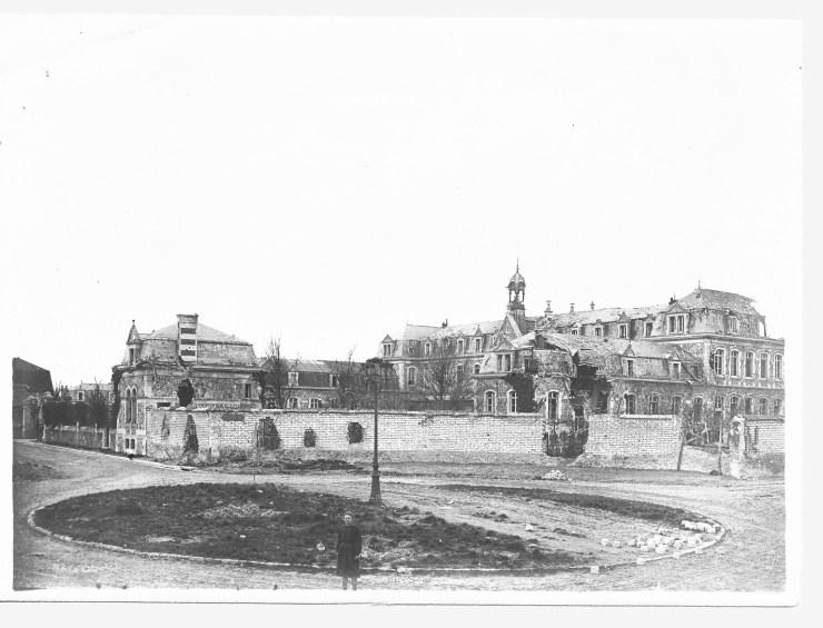 La maison de convalescence de l'Hôpital Sébastopol pendant la Grande Guerre