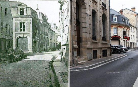 Ancienne rue de l'Avant-Garde, actuelle rue Notre-Dame de l'Épine