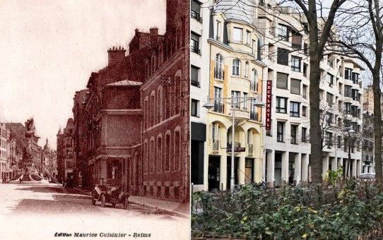 La rue Buirette, ancienne  rue Large