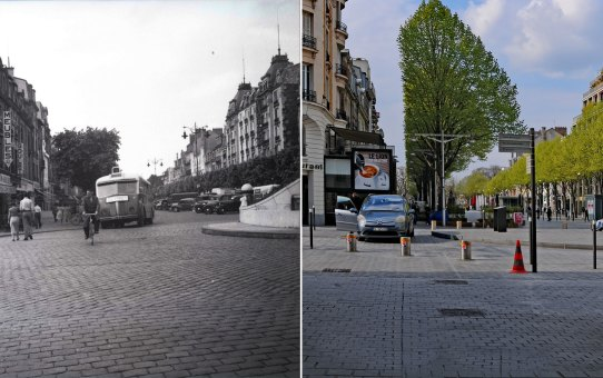 Place d'Erlon en 1951