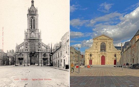 Narcisse Brunette #3 - Restauration de l'église paroissiale Saint-Maurice de Reims