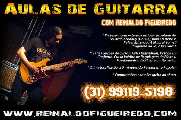 Aulas de guitarra em BH e Online para todo o Brasil!