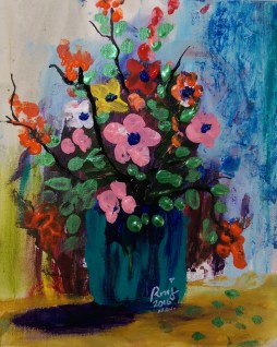 Chaos to bloom 4, size: 8x10, $45