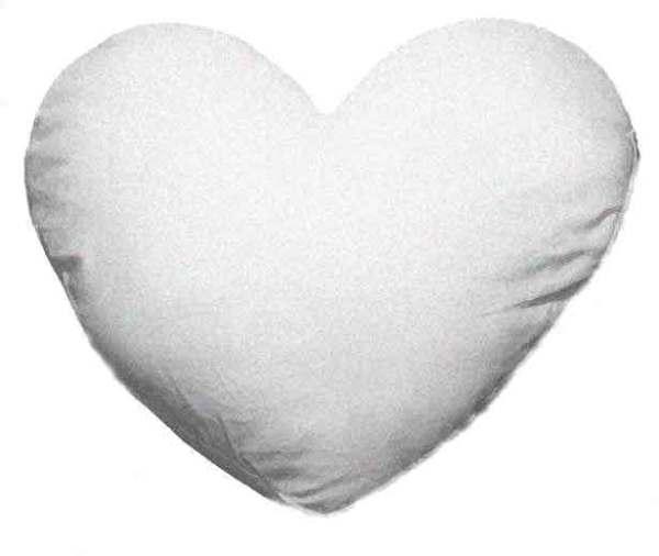 Pillow insert heart