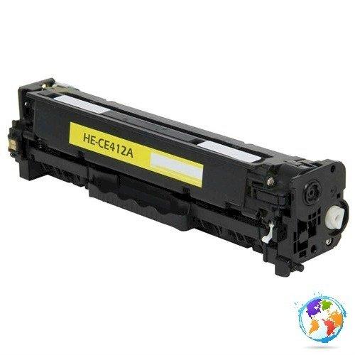 HP CE412A 305A Yellow Umplere HP LaserJet Pro 400 color MFP M475dw