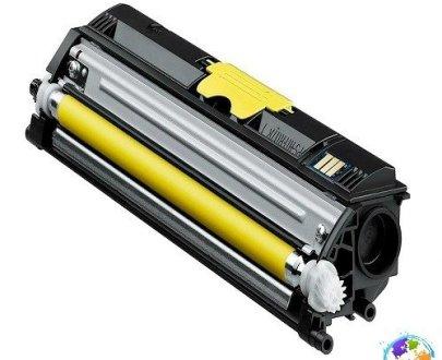 Konica Minolta A0V306H Yellow Umplere Konica Minolta Magicolor 1600W