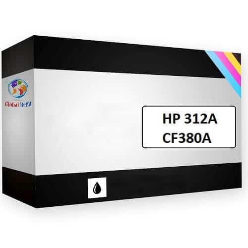 HP CF380A 312A Black HP LaserJet Pro MFP M476NW
