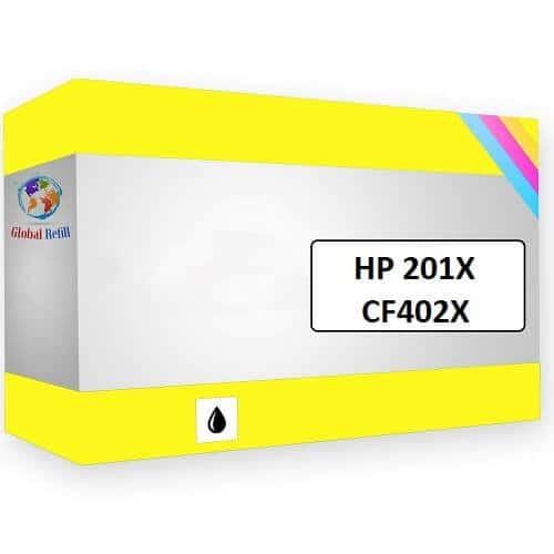 HP CF402X 203X Yellow HP Color LaserJet Pro M252n