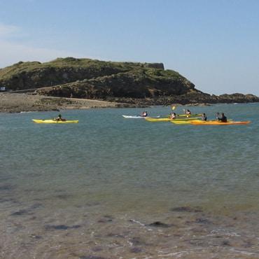 kayak mer St Malo