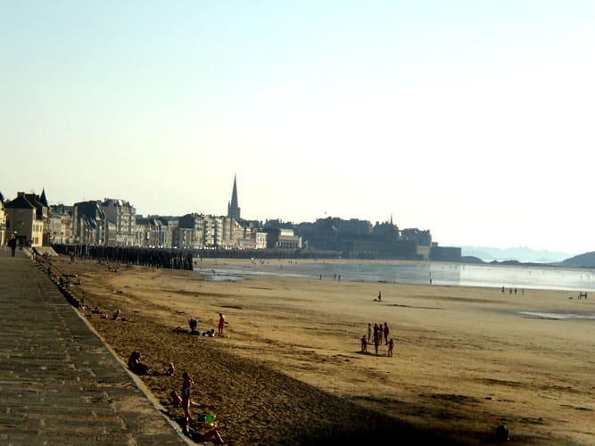 Plage de Saint Malo