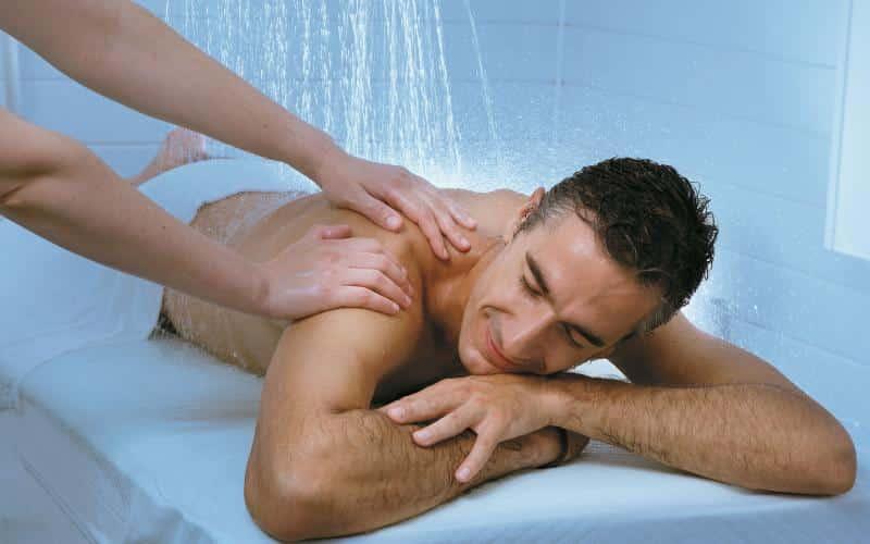 Massage Thalasso : modelage sous affusion