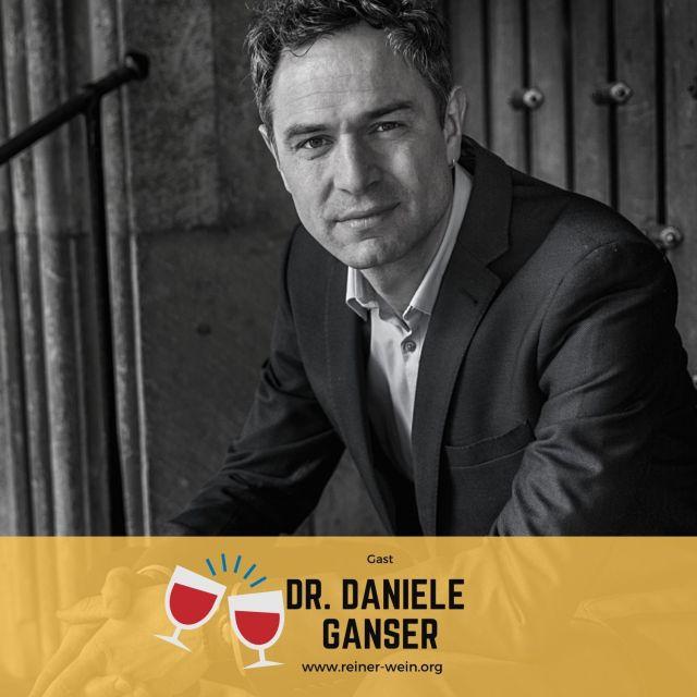 Reiner Wein Podcast Gast Dr. Daniele Ganser (Foto: Ingo Wösner)