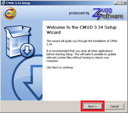 Cómo instalar ZMud o CMud - Paso 5