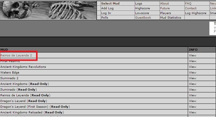 Cómo subir logs a la Deathlogs - Paso 1