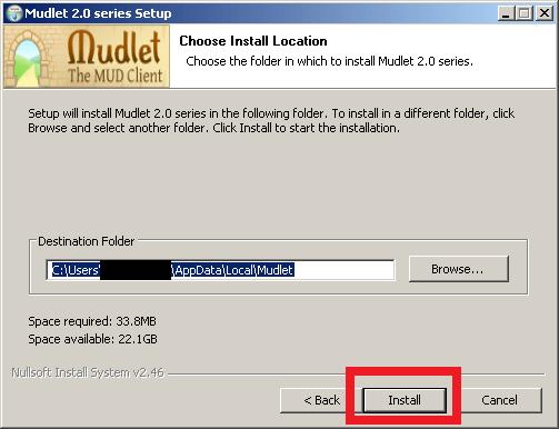Cómo instalar Mudlet - Paso 5